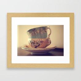 An alternative view  Framed Art Print