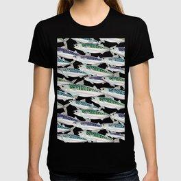 Mackerel pattern T-shirt