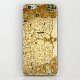 Gustav Klimt - Tree of Life iPhone Skin