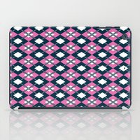 preppy iPad Cases featuring Preppy Argyle by markmurphycreative