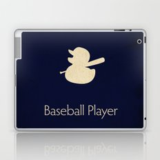 Baseball Player Laptop & iPad Skin