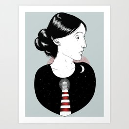 To the Lighthouse - Virginia Woolf Art Print