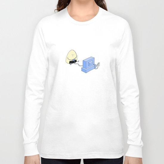 Onigiri video games! Long Sleeve T-shirt