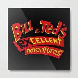 RXcellent Adventures Logo Metal Print