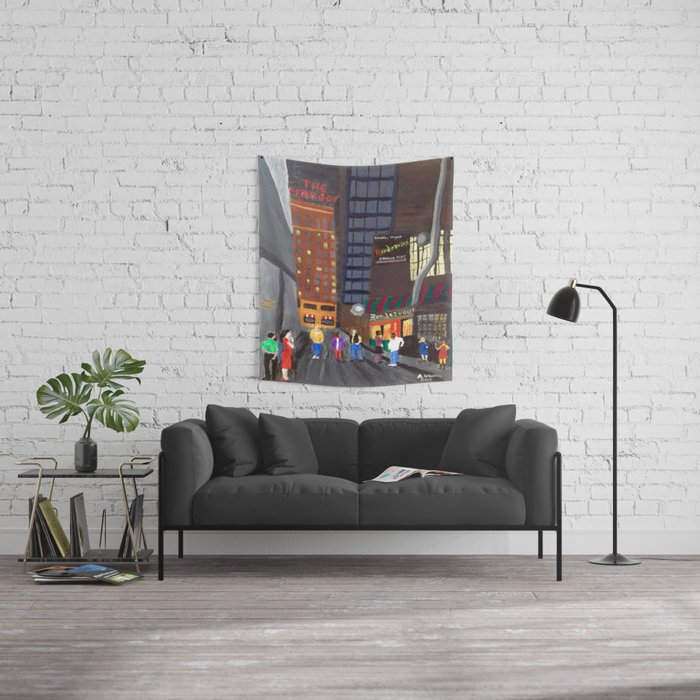Rendezvous Alley, Memphis Wall Tapestry