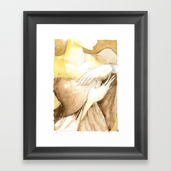 """Her New Life""  Framed Art Print"