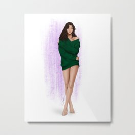 the green sweater part 2 Metal Print