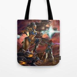 Transcendent Courage Tote Bag