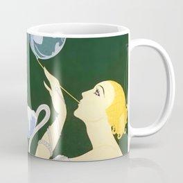 "1920's Art Deco Design ""Bubbles"" Coffee Mug"