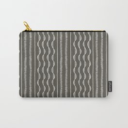 Side-By-Side Mud Cloth by Proxy Design Carry-All Pouch