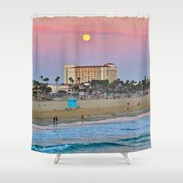 Blue Moon / Hilton Waterfront Beach Resort 8/20/13 Shower Curtain
