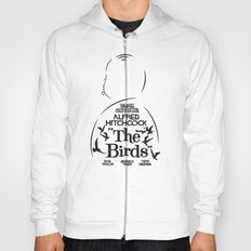 The Birds - Alfred Hitchcock Movie Poster Hoody