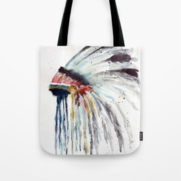 Indian Headress Tote Bag