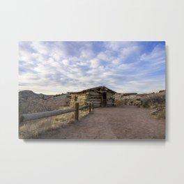 Wolfe Ranch - Arches National Park, Utah Metal Print