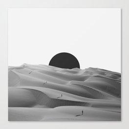 idle. Canvas Print