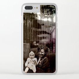 ROSEMARIE Clear iPhone Case