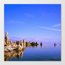 Reflections at Mono Lake Canvas Print