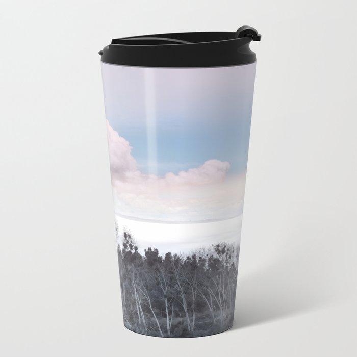 Landscape & Clouds II Metal Travel Mug