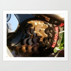 Sprockets Art Print