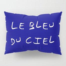Le bleu du ciel - blue sky Pillow Sham