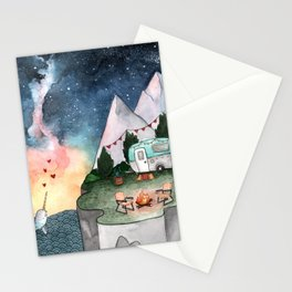 Night Camper Stationery Cards