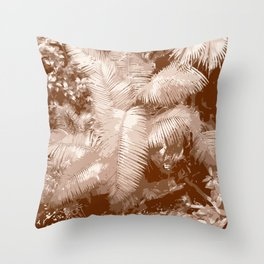 Dark Jungle Throw Pillow