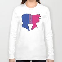 bisexual Long Sleeve T-shirts featuring Bisexual Love by Winter Graphics