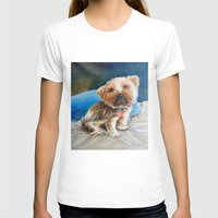 yorkie T-shirts featuring Yogi the Yorkie by Steve James