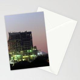 Power Station Lights Stationery Cards