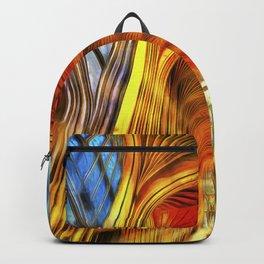 Bath Abbey Sun Rays Van Gogh Backpack