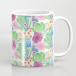 Malia's Tropical Print Coffee Mug