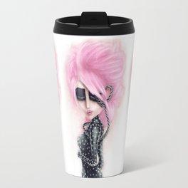 Pinkanhy Polka Travel Mug