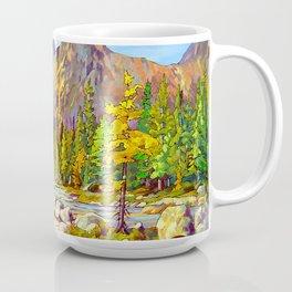 Lake O'Hara Holiday by Amanda Martinson Coffee Mug