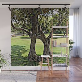 Dance of the Olive Tree Wall Mural