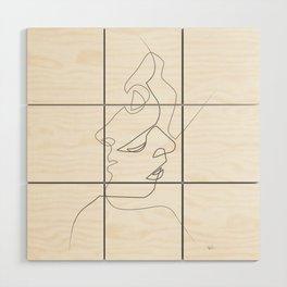 Close on white Wood Wall Art