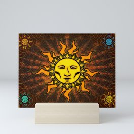 Sublime Sun #1 Icon Mini Art Print
