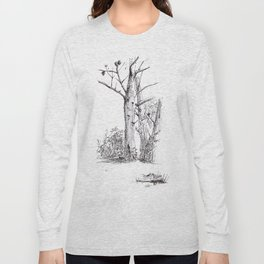 Sous les pins Long Sleeve T-shirt