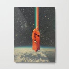 Spacecolor Metal Print