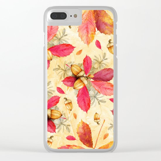 Autumn leaves #25 Clear iPhone Case