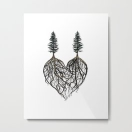 The Way I Love You (album cover for Corey Lewin) Metal Print