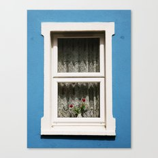 Galway Window Canvas Print