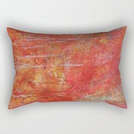 Written on Torn Pages Rectangular Pillow
