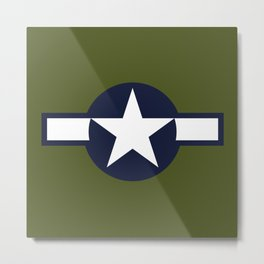 U.S. Army Air Force Metal Print