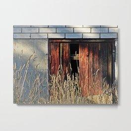 Small door photography Metal Print