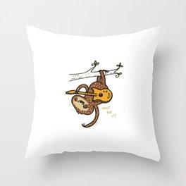 Slow Jam! Throw Pillow