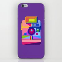 polaroid iPhone & iPod Skins featuring Polaroid by MaNia Creations
