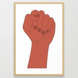 Female Power 8 Framed Art Print
