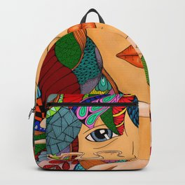 Colorful Girl Backpack