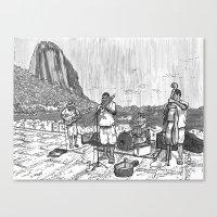 rio Canvas Prints featuring Rio by Steven Mast