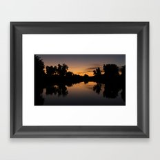 twelve. Framed Art Print